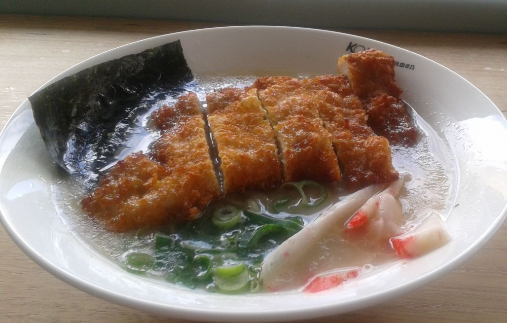 Pork Katsu Ramen