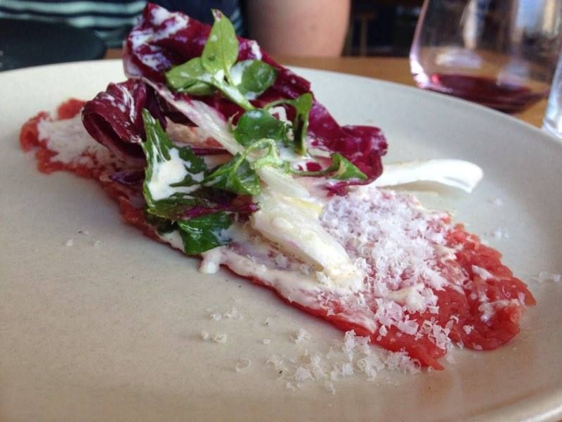 Beef Carpaccio with Anchovy