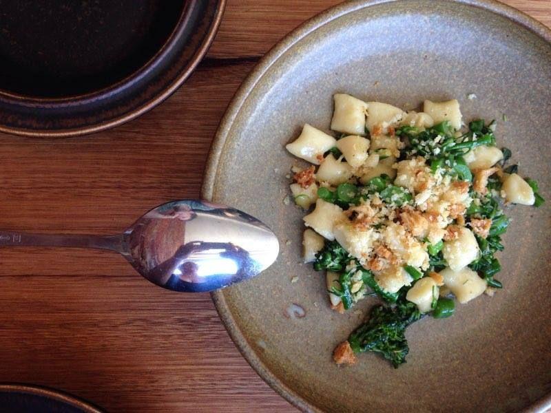 Gnocchetti, Broccolini, Chilli